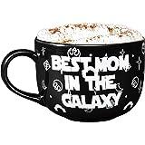 Taza de café con café para el Día de la Madre de Star Wars – Mejor mamá en la galaxia – Gran regalo para mamá – Cerámica – 15