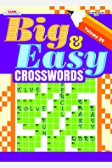 Big & Easy Crosswords Puzzle Book-Volume 29 Paperback