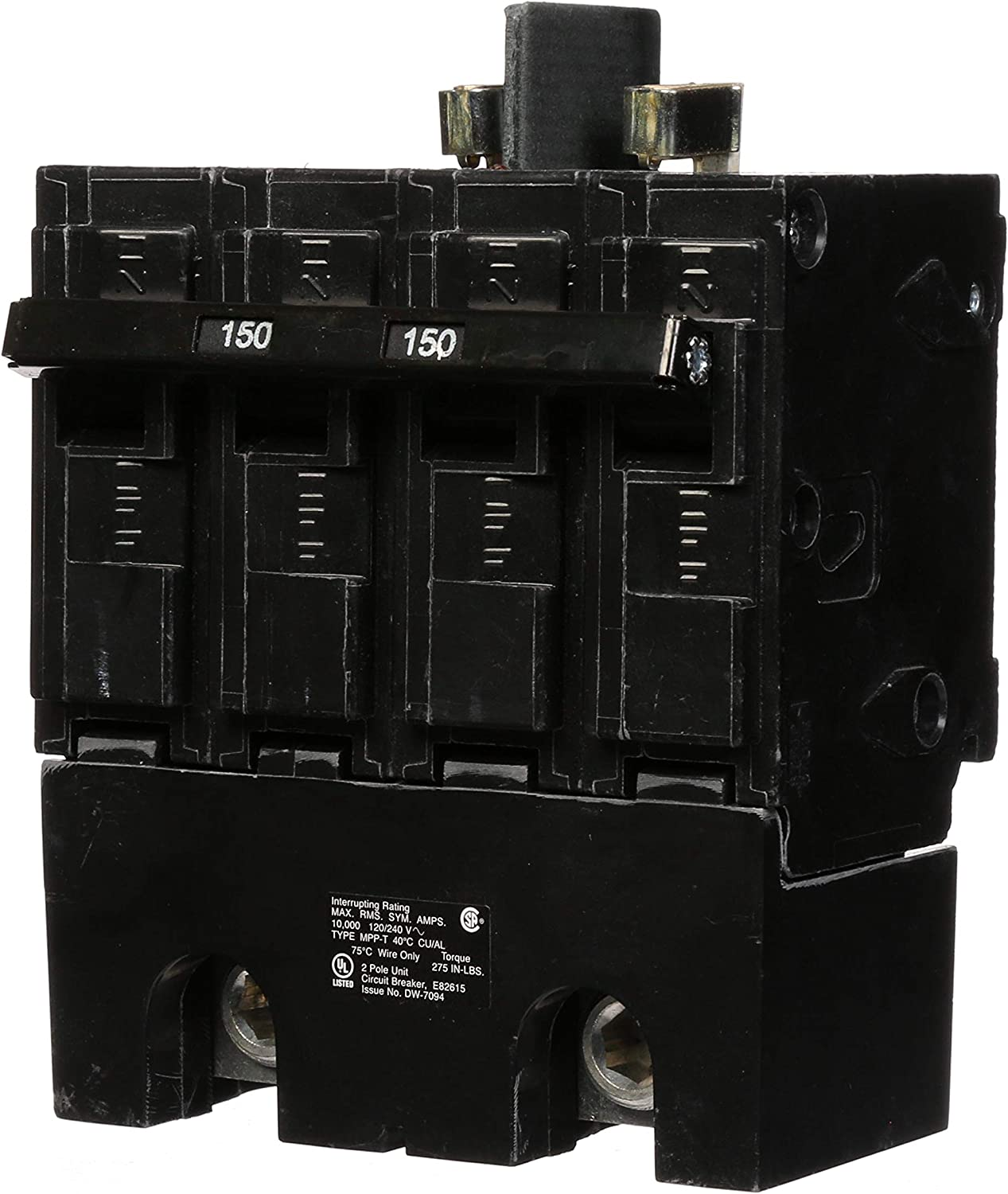 Murray MPP2150 120/240-Volt 4-pole type MPP 150-Amp Main Breaker 81SBuq4rogLSL1500_