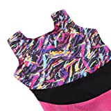 Gymnastics Leotards with Shorts for Girls Size 6-7