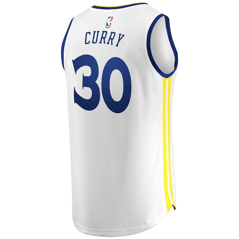 Jersey Outlet N-B-A GS Stephen-Curry 30 Fan Men Jersey (Blanco, L): Amazon.es: Deportes y aire libre