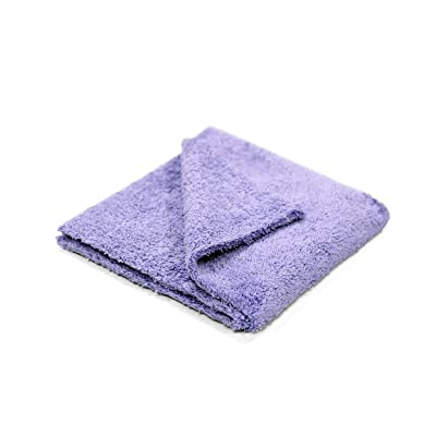Maxshine 40x40cm Ultimate Zero Crazy 600GSM,Purple,Edgeless Microfiber Towel-Premium Used for Cleaning and Detailing: Automotive