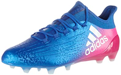 a79045a78ba107 Adidas Men's X 16.1 Fg Blue, Ftwwht and Shopin Football Boots - 8 UK ...