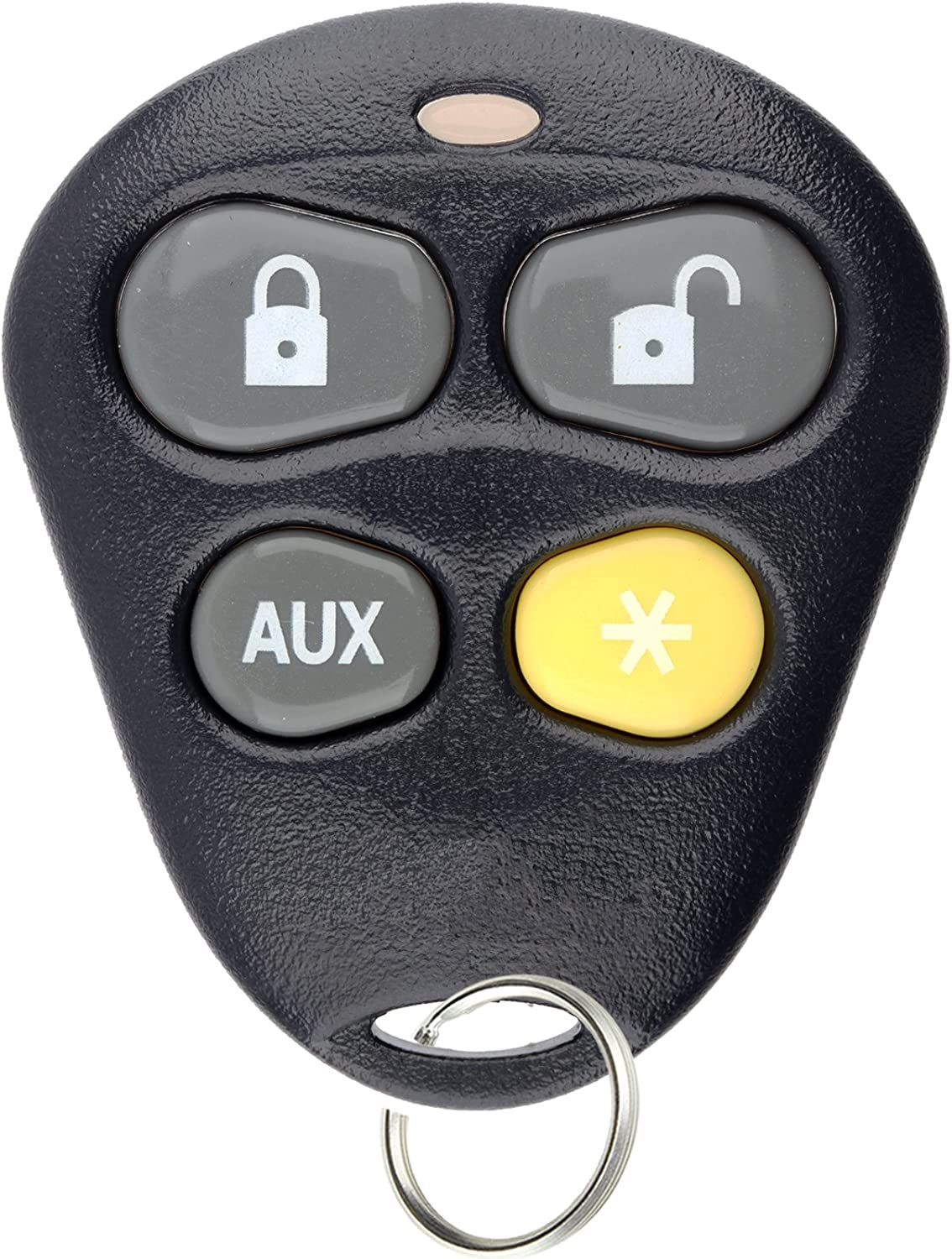 For Aftermarket DEI Alarm Systems Keyless Entry Remote Key Fob 4btn W//Orange Button EZSDEI474V RPN 474V