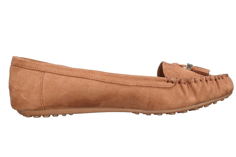 Lily shoes Mocassins Femme M10 Camel