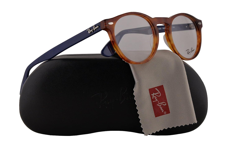05c7c5c03c6ef Ray Ban RX5283 Eyeglasses 49-21-145 Yellow Tortoise 5609 RB5283   Amazon.co.uk  Clothing