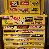 Crash Daddy Racing Decal Sticker 45 Piece Assortment EzInstall d-gb45