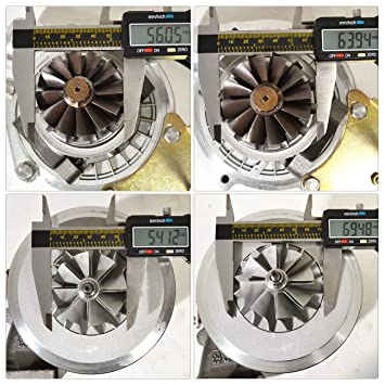Volve 240 740 940 2.3L N/A Motor colector acero inoxidable + T3/T4 V-Band refrigerado por aceite turbo cargador con interior wastegate + calor Shield, ...