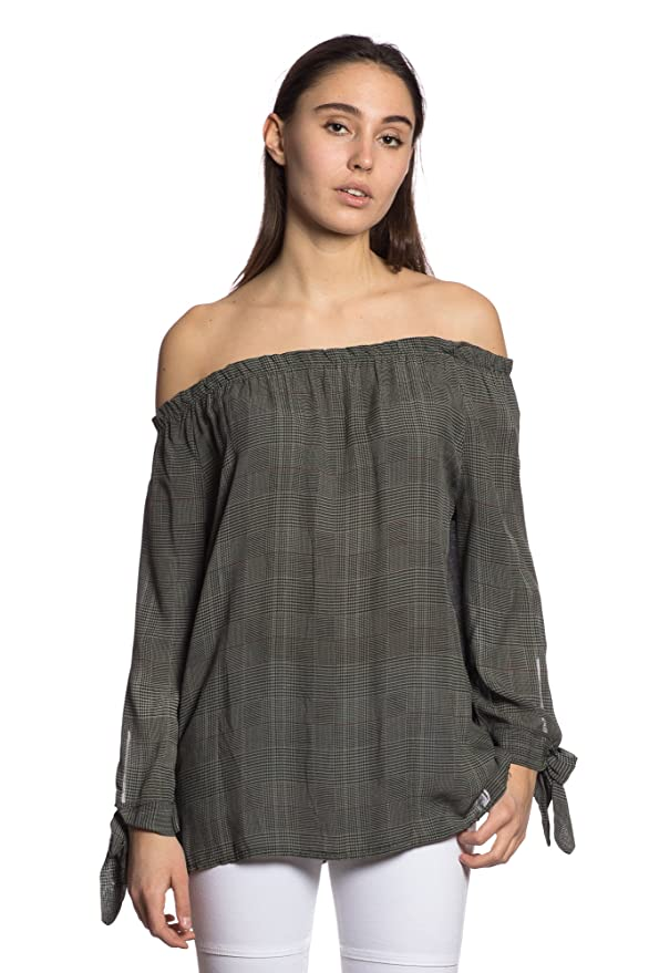 Abbino 1610-8 Blusa Top para Mujer 4 Colores - Fashion Tendencia Flexible Delicado Entretiempo Otoño Invierno Comodo Calido Elegante Fiesta Rebajas Encanto ...