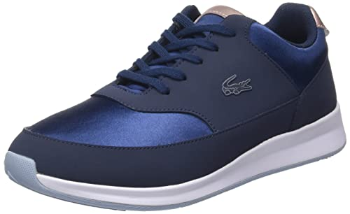ea3d9228b Lacoste Women s Chaumont Lace 317 1 Bass Trainers  Amazon.co.uk ...