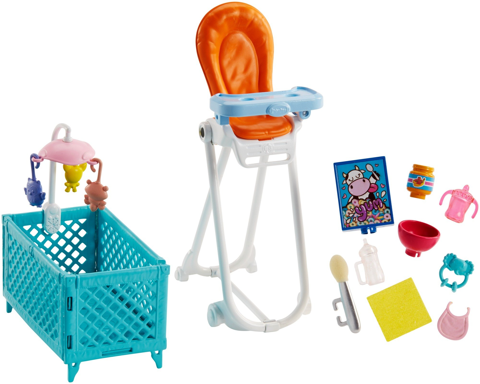 Barbie Skipper Babysitters Inc. Doll and Feeding Playset by Barbie (Image #2)