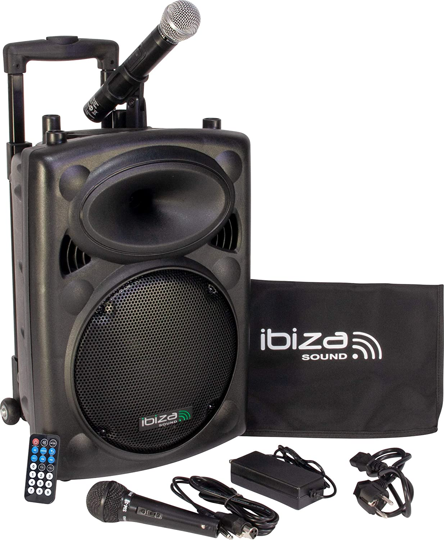 Sistema de sonido Bluetooth Ibiza Sound PORT10VHF-BT 500W por 122,20€ ¡¡Ahorras 107€!!