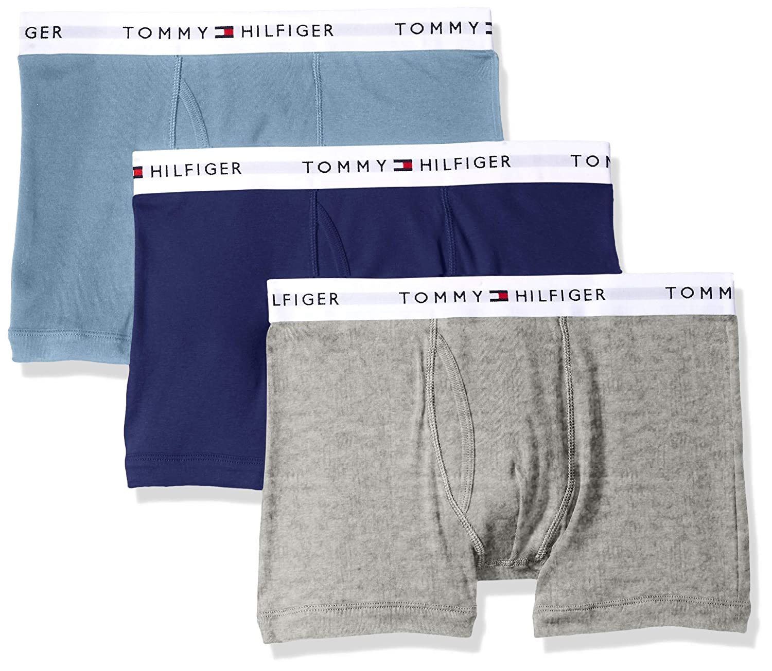 Tommy Hilfiger Mens Cotton Classics 3 Pack Trunk