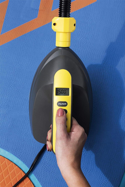 Inflador El/éctrico de Mechero Hydro Force 12V Pantalla LCD Bestway 65315