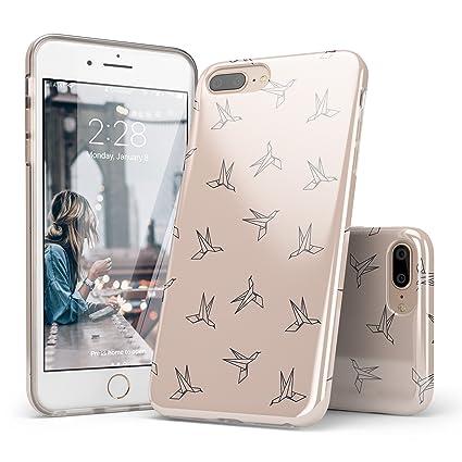 Amazon.com: Mármol iPhone 7 Plus Funda, carcasa iPhone 8 ...