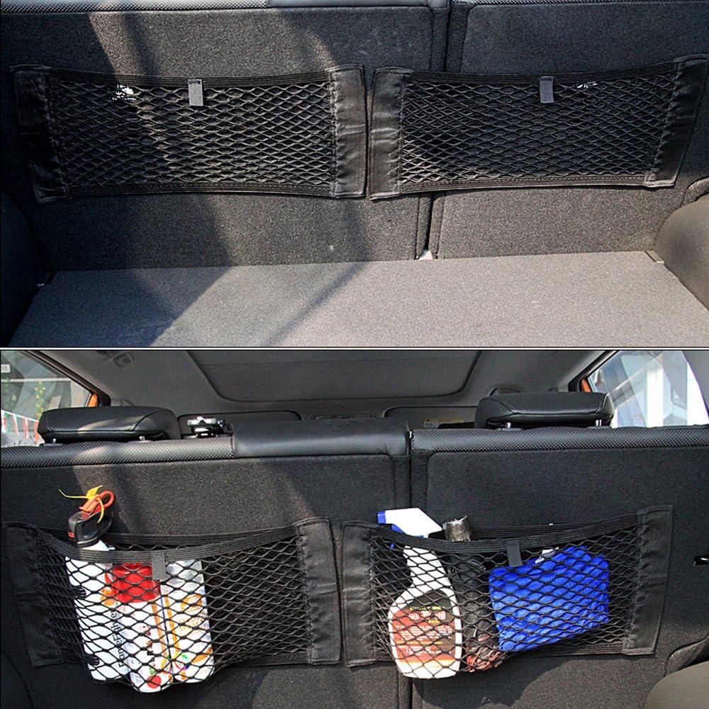 1pc 39 * 23,5 cm attaccatura del nastro magico dellorgano elastico posteriore posteriore Winbang Sacchetto di stoccaggio per il bagagliaio dellauto