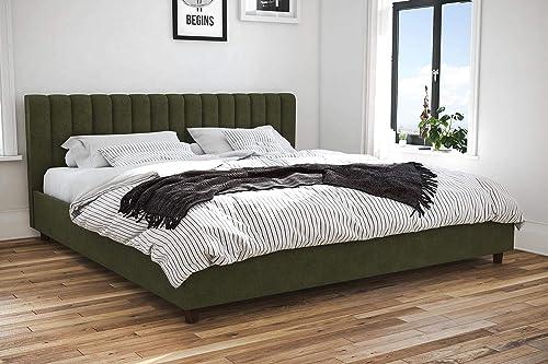 Novogratz Brittany Upholstered Platform Bed Frame