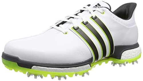 buy online 2cff8 9b278 adidas Tour360 Boost, Mens Golf Shoes, White  Black  Yellow, ...