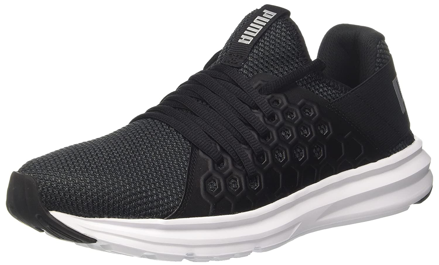 be8a8c269008 Puma Men s Enzo Nf Black Multisport Training Shoes-12 UK India (47 EU)  (19093201)  Buy Online at Low Prices in India - Amazon.in