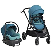 Maxi-Cosi Zelia 5-in-1 Modular Travel System - Stroller and Mico 30 Infant Car Seat Set, Emerald Tide
