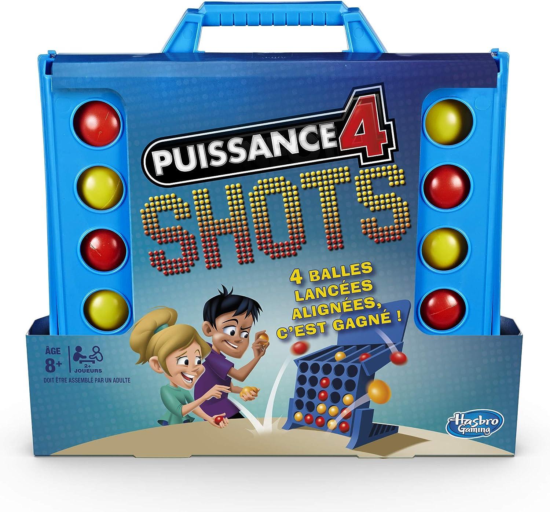 Hasbro Juegos niños – 4 Gaming – Potencia 4 Shots – Juego de Societe, e3578101, Multicolor: Amazon.es: Juguetes y juegos