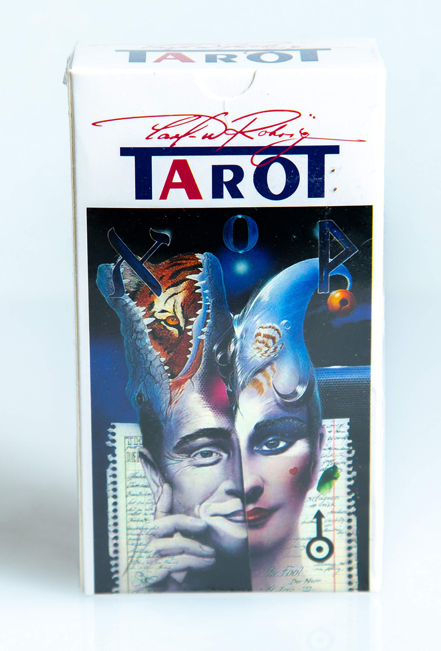 New 78 The Rohrig Tarot Tarot Cards Deck (Replica) Valentines Gift by Unknown (Image #4)