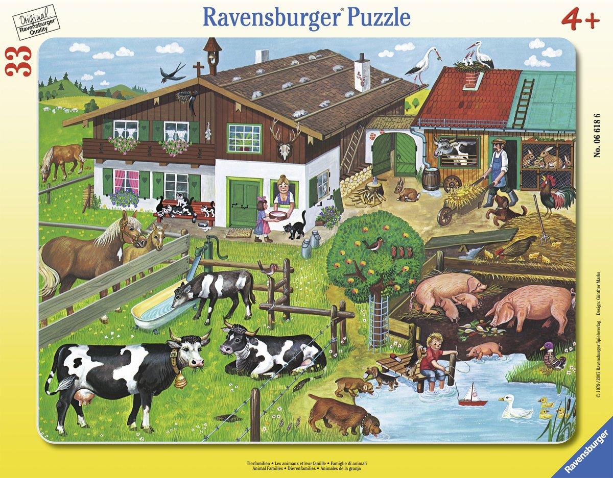 Ravensburger Rompecabezas de 30 Piezas 37.5x29.1 cm