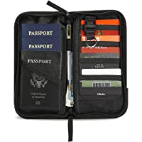 ProCase Travel Passport Wallet Organizer Passport Holder Bag for Passports Credit Cards Tickets Boarding Passes Cash