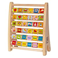 Deals on Hape Alphabet Abacus E1002