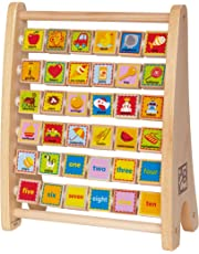 Hape Alphabet Abacus Wooden Counting Toy
