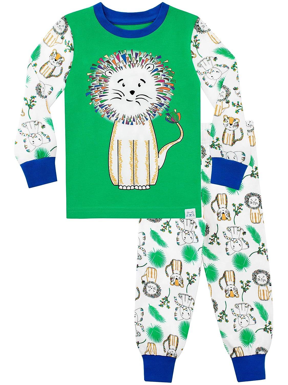 Harry Bear Boys' Pajamas King of The Jungle