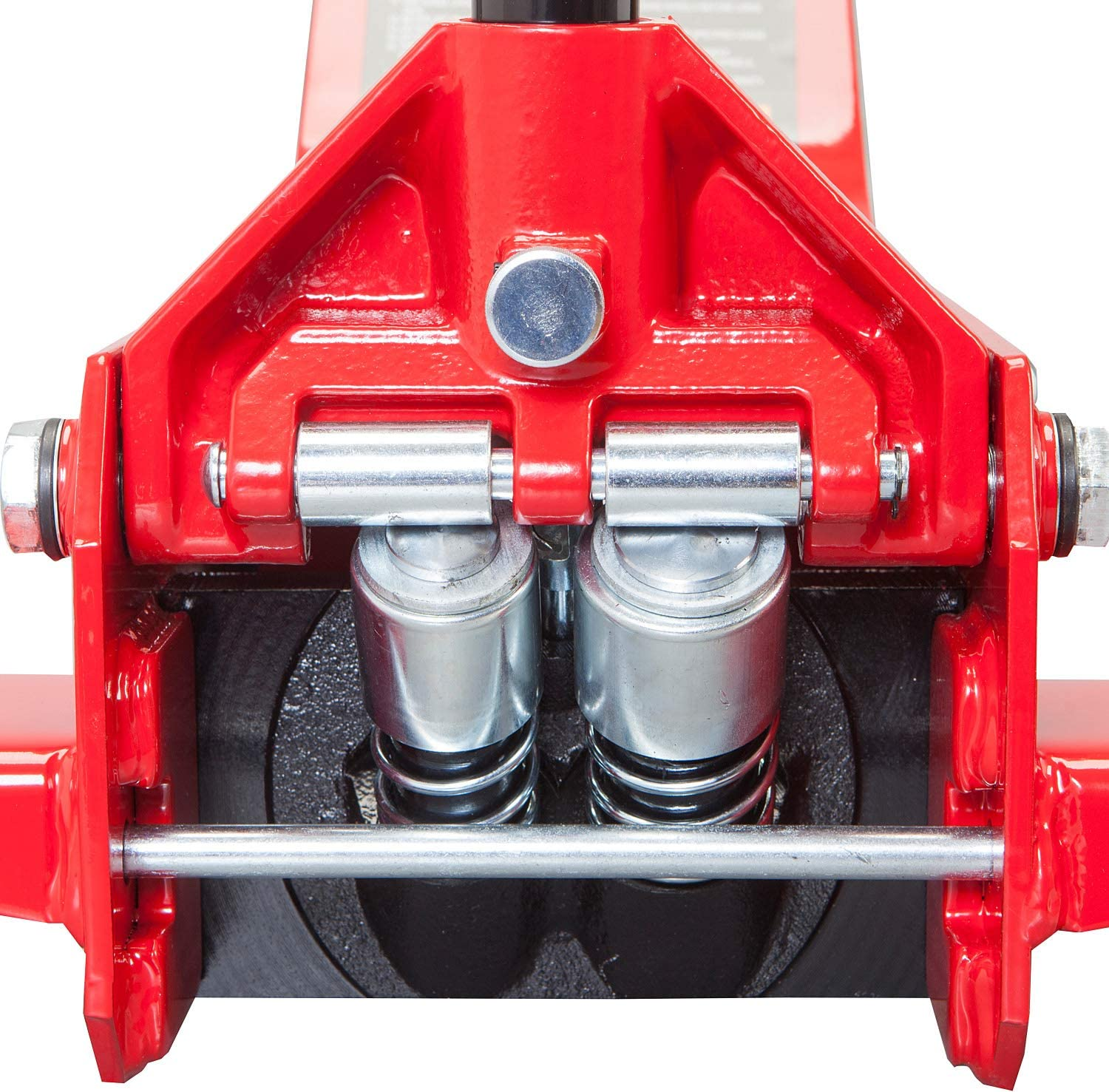 BIG RED AT84007R Torin Hydraulic Low Profile Service//Floor Jack with Dual Piston Quick Lift Pump Capacity 8,000 lb 4 Ton Red