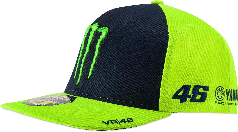 Valentino Rossi VR46 Monster - Gorra para Adulto (Talla única ...