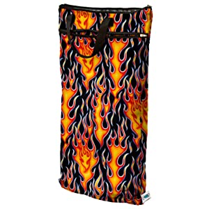 Planet Wise Hanging Wet/Dry Bag - Flame