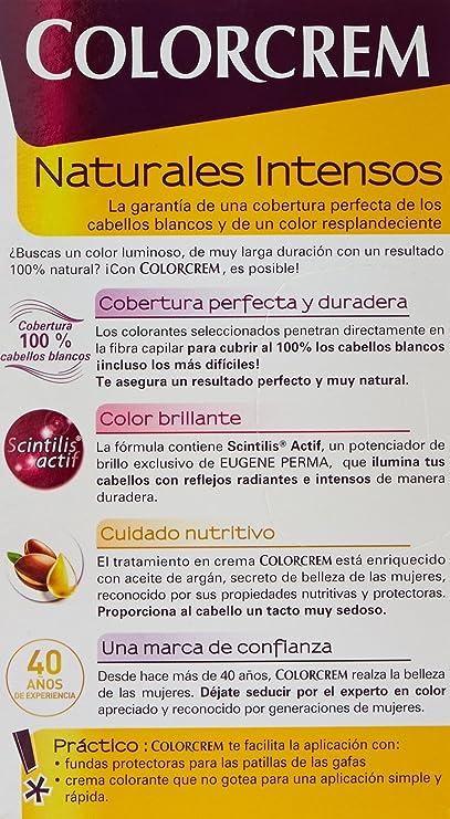 Colorcrem Color & Brillo Tinte Capilar Naturales Intensos Color Rubio Claro Dorado