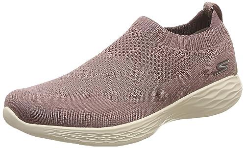 Buy Skechers Women's You Mauve Sneakers