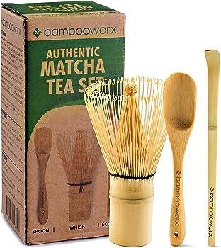 Bambooworx Japanese Tea Set - Matcha Whisk