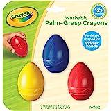 Crayola 811450 My First Palm Grasp Washable Crayons (3 Piece)