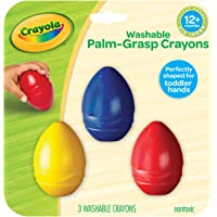 Crayola 811450 My First Palm Grasp Washable Crayons (3 Piece)