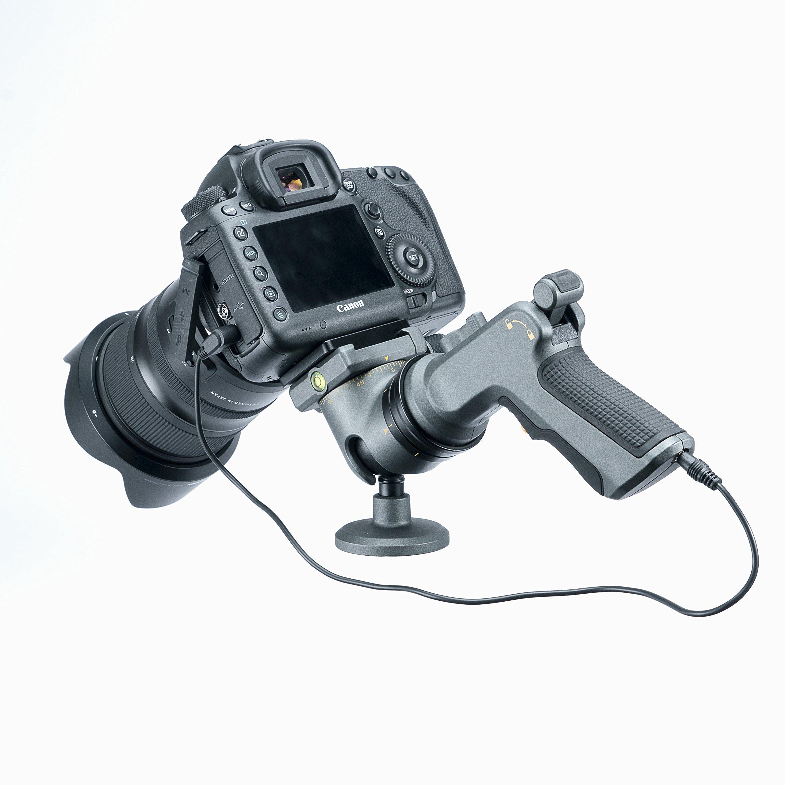 Vanguard ALTA Grip Tripod Head, Gray (ALTA GH-300T) by Vanguard (Image #4)