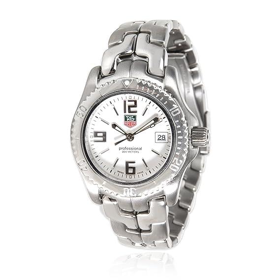 TAG Heuer Link cuarzo mujer reloj wt1314 (Certificado) de segunda mano: Tag Heuer: Amazon.es: Relojes