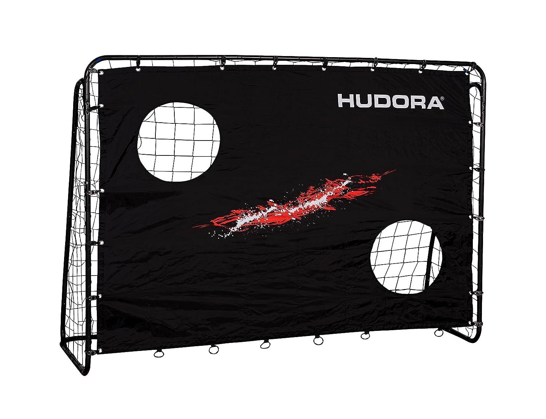 HUDORA Fußball-Tor Trainer mit Torwand, Fußball-Tor Garten - 76923 ...
