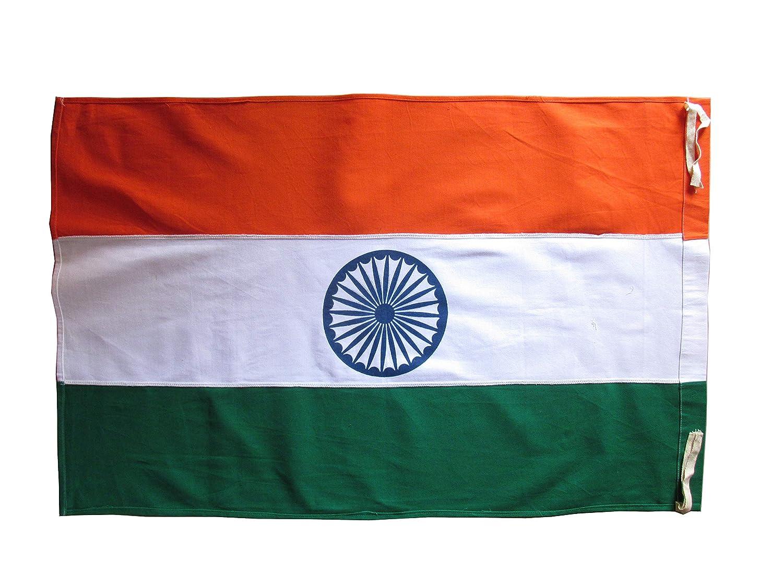 Shyamaraj National Flag Of India Khadi 3 Feet X 2 Feet Amazon In Garden Outdoors
