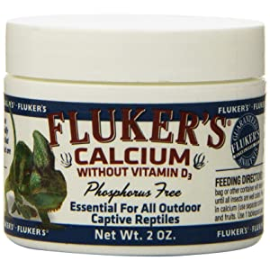 Fluker's Calcium Without Vitamin D3 Supplement