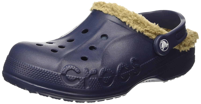 Crocs Baya Zuecos con forro y correa unisex