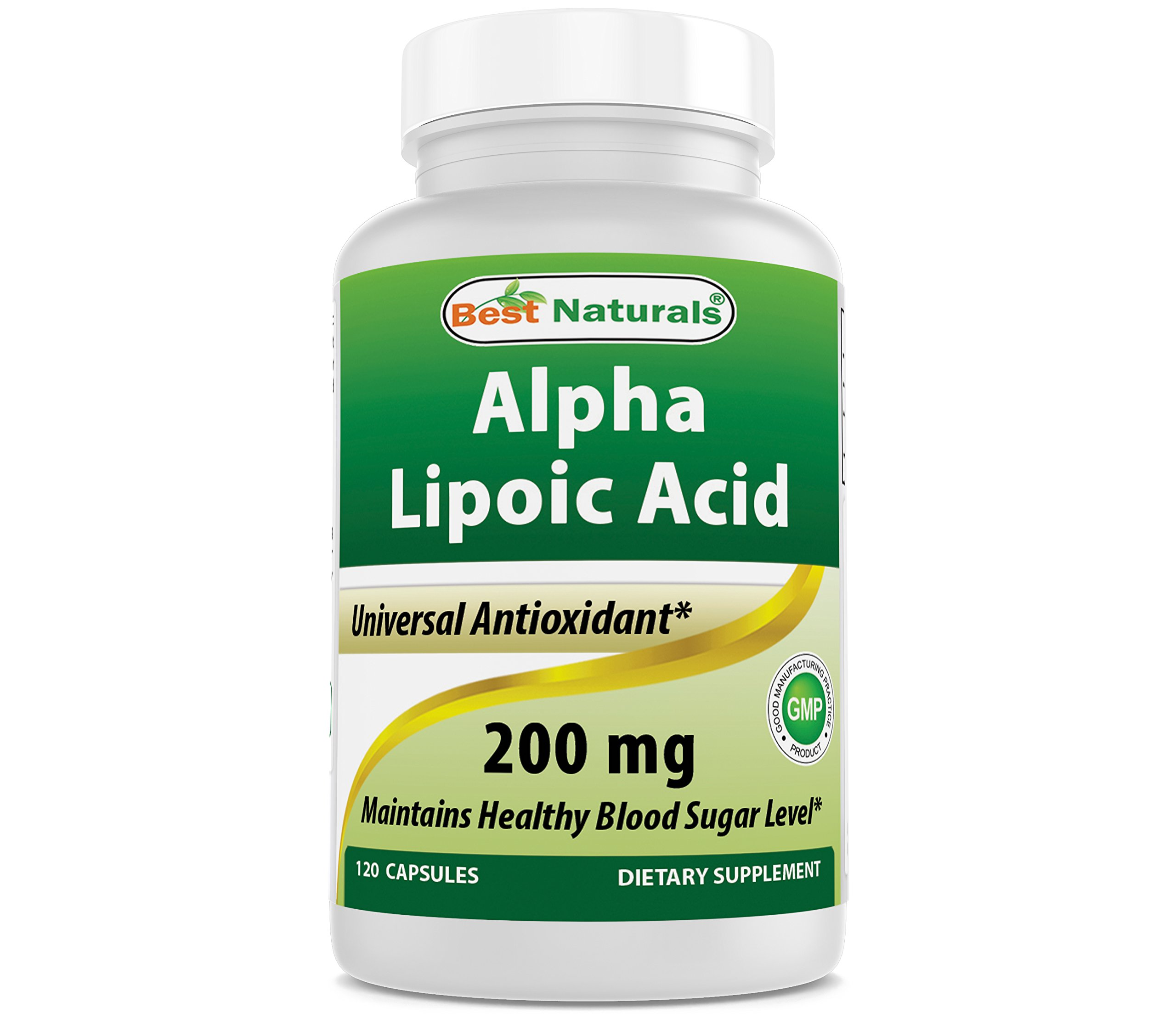 Best Naturals Alpha Lipoic Acid 200 Mg 120 Capsules