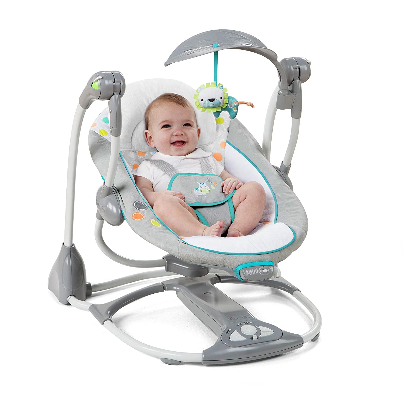 Ridgedale Baby Bouncy Set Ingenuity ConvertMe Swing-2-Seat Portable Swing