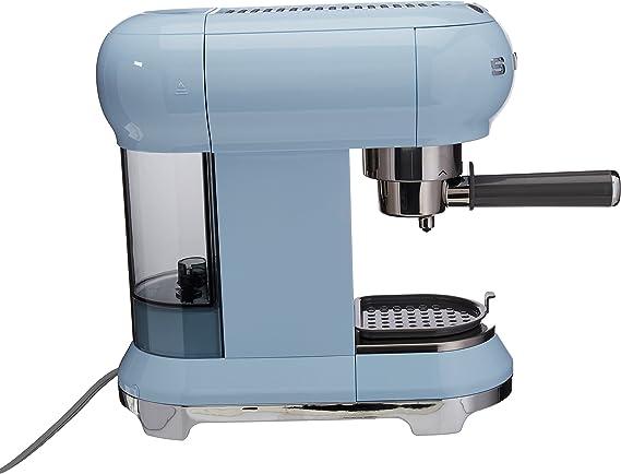 SMEG ECF01PBEU Máquina de Café Expreso, 1300 W, Acero Inoxidable ...