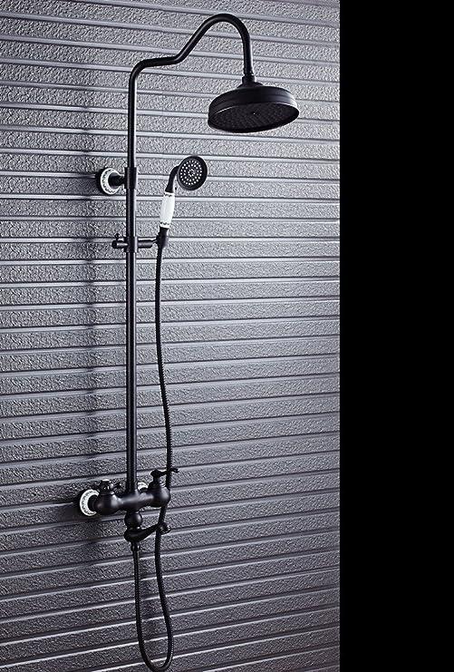 Grifo de la Ducha WC Europeo Ducha Negro Bronce Juego de Ducha del ...