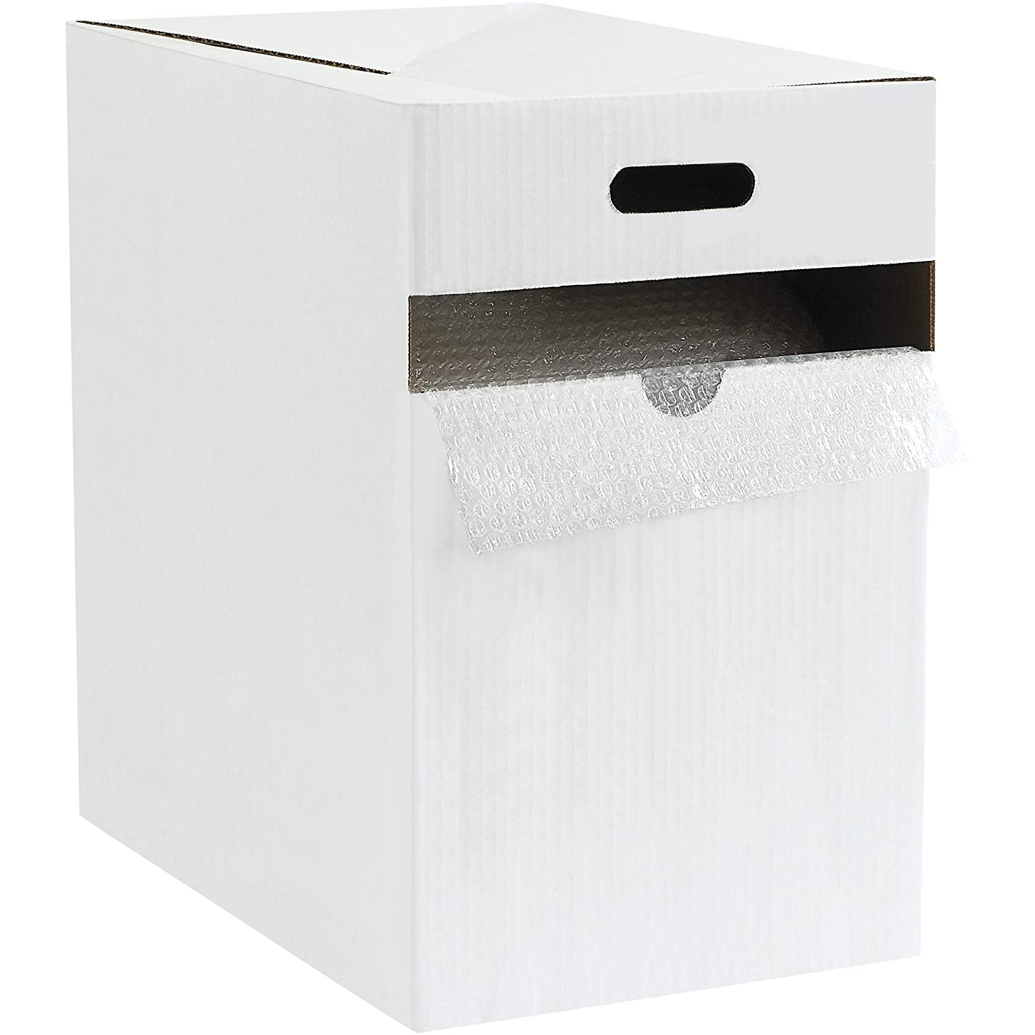 Boxes Fast BFBDAD31612 Adhesive Air Bubble Dispenser Pack, 3/16' x 12' x 175', Clear (Pack of 1)